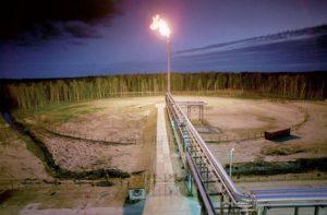 Отжиг метана на месторождениях