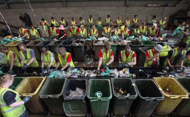 Швейцария, переработка мусора.