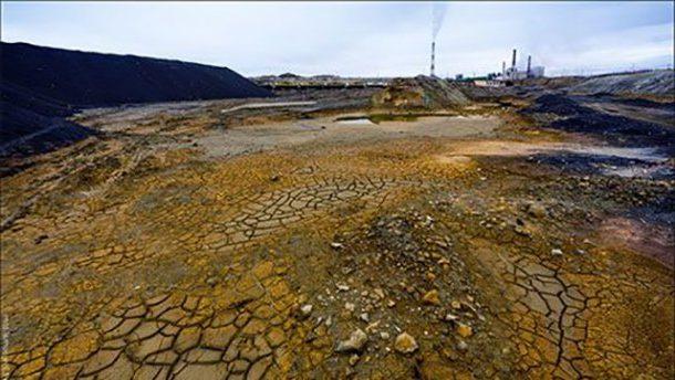 Земля после кислотных дождей