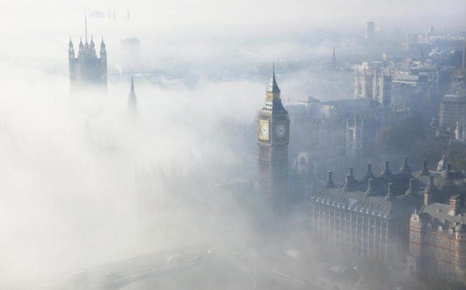 Токсичный туман в лондоне