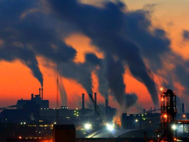 Выбросы CO2 в вечернее время