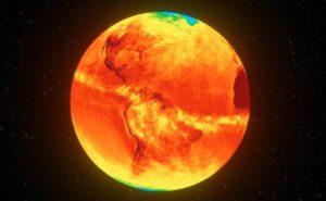 Инфракрасное излучение земли