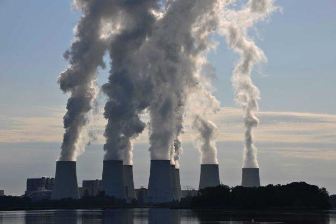 Выбросы электростанций